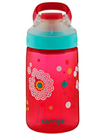 Gizmo 14oz Cheery Pink Dandelion with Sip Spout