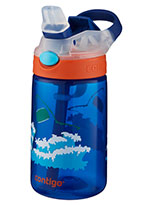 Gizmo 14oz Blue Sharks with Silicon Spout