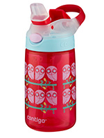 Gizmo 14oz Ruby Owls with Silicon Spout